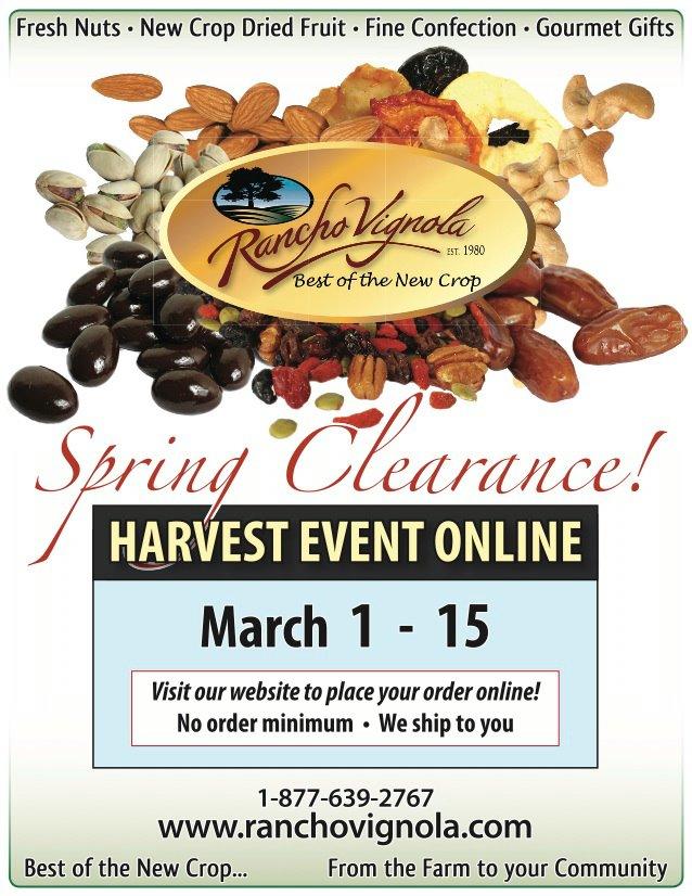 Spring Clearance Harvest Event online.