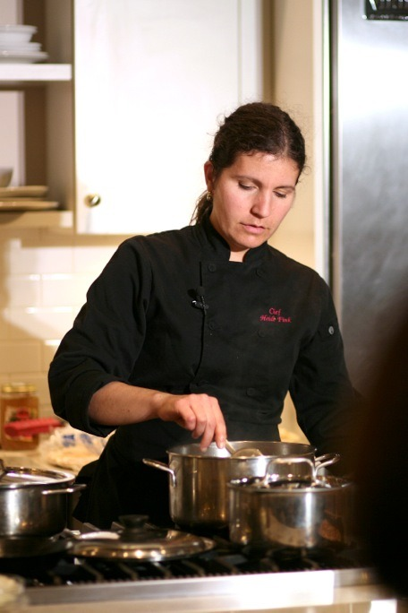 Chef Heidi is a culinary legend in Victoria and her classes and 'foodie' tours of the BC capita,l are truly wonderful. www.chefheidifink.com