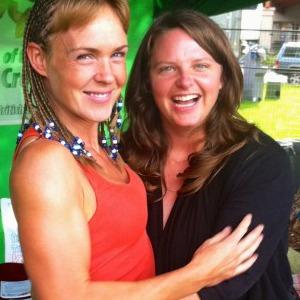 Shanda and I at the Rancho booth at the Challenge Expo.
