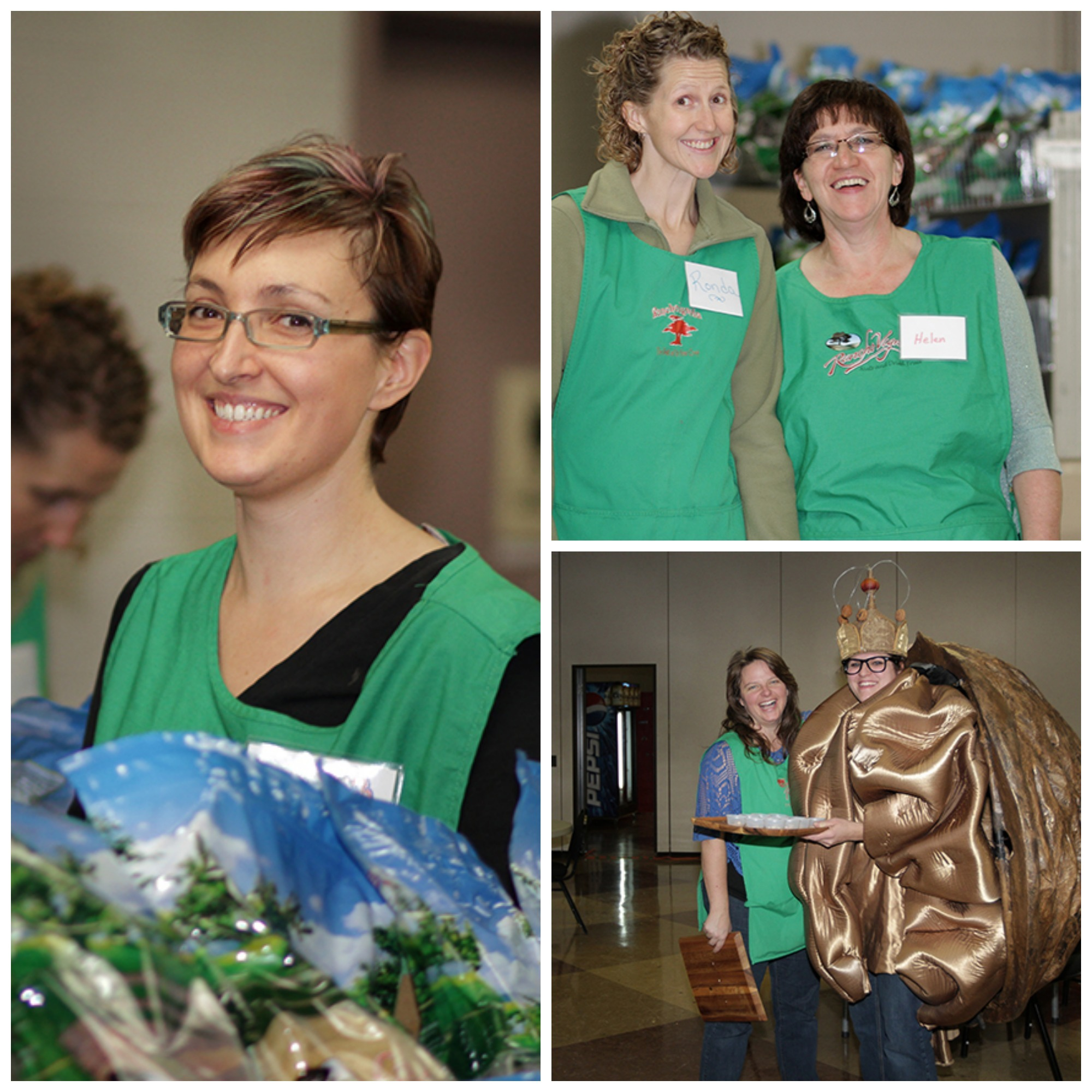 Big smiles and lots of helping hands made for a wonderful event in Camrose this year.