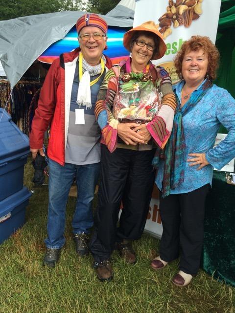 And the gift basket winner is… local Courtenay citizen Medwyn McConachy. Congratulations Medwyn!